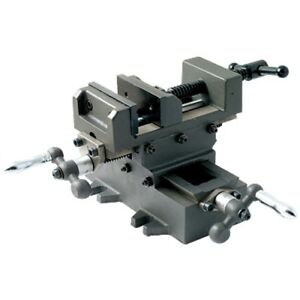 4 Heavy Duty Cross Slide Vise With Metric Dial 3900 2704