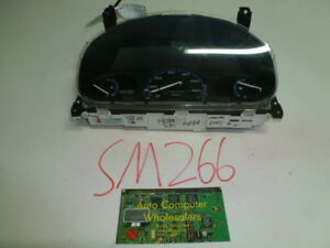 Sm266 Oem Warranty 96 1997 1998 1999 Civic Manual Instrument Cluster Speedometer