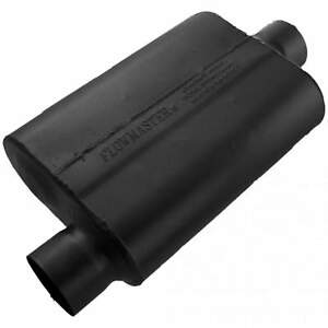Flowmaster 40 Series Muffler 3 00 Offset In 3 00 Center Out Aggressive Sou