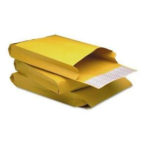 Quality Park 93334 Redi strip Kraft Expansion Envelope Side Seam 9 X 12 X 2 B