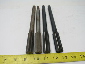 Ap cleveland 13 16 Ss Sf Chucking Reamers Various Mfg Lot 4