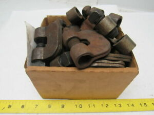 Stamped Steel Beam Clamp 3 4 Bolt Lot Of 21