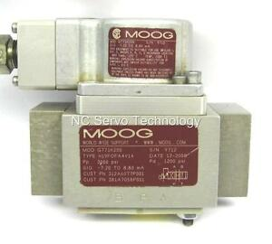 Moog G771k200 Servo Valve Rebuilt W warranty 1 000s Of Valves Stocked