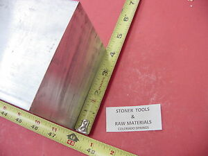 4 X 4 Aluminum 6061 Square Solid Bar 48 Long T6511 Flat New Mill Stock