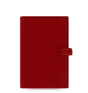 Filofax Finsbury Organizer Personal Cherry Leather