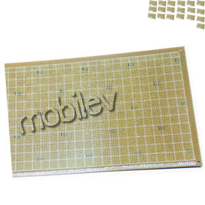 20 Breadboard Prototype Pcb Print Circuit Board 18 X 30cm Brown Diy