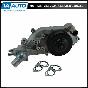 Ac Delco 251 728 Engine Water Pump For Cadillac Cts v Chevy Camaro Corvette Ss