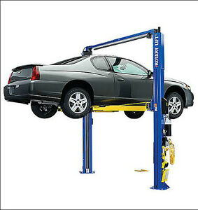 Rotary Spoa10 ta 2 Post Auto Lift 10 000 Lb Trio Arms Truck Adapters Lift Sale