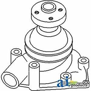 157324as Water Pump Fits White Oliver Mpl Moline Tractor 1800