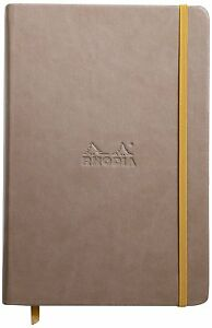 Rhodia Rhodiarama Notebook Taupe Blank 96 Sheets 5 5 X 8 25 R118724