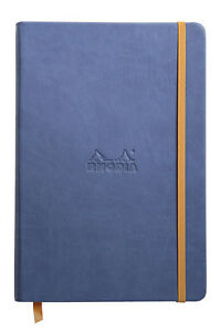 Rhodia Rhodiarama Webbies Notebook Sapphire Blank 96 Sheets 5 5 X 8 25