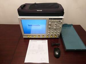 Tektronix Dpo7254 2 5 Ghz 40 Gsa s 4 Channel Digital Oscilloscope Calibrated