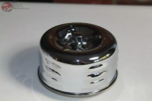 2 Barrel Low Profile Louvered Bee Hive Air Cleaner Wing Nut Hot Rat Rod Truck