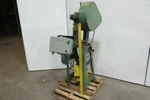 Rousselle No 0a Mechanical Obi Punch Press 5 Ton 1 1 4 Stroke 3 1 2 Throat 115v