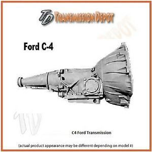 C4 Stock Ford Transmission 2wd Only 64 69