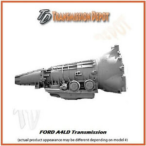 A4ld Ford Transmission Stage 1 2wd Fits Aerostar Mustang Explorer Bronco Ii