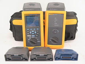 Fluke Networks Dsp 4100 Cable Analyzer W Dsp 4100sr Smart Remote Accessories