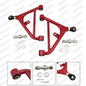 Red Adjustable Rear Lower Control Arm Fits 240sx S13 180sx Suspension Set Us jdm