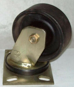 Bassick 5 X 2 1500 Lbs Swivel Top Plate Caster C406