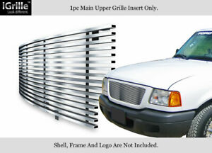 For 2001 2003 Ford Ranger Xlt Xl 2wd Stainless Steel Billet Grille Insert