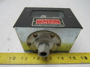 Mercoid Control Ap 153 Rg 37 Diaphragm Operated Mercury Pressure Control Switch
