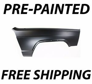 New Painted To Match Passengers Front Rh Fender For 1997 2001 Jeep Cherokee Xj