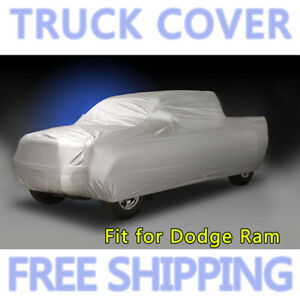 Breathable Truck Pickup Car Cover Sun Uv Rain Dust Resistant For Dodge Ram