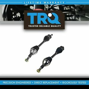 Trq New Cv Axle Shaft Assembly Front Pair For Acadia Enclave Outlook Traverse