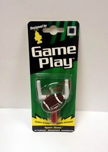 Lot Of 12 Pieces 3 D Hanging Football Car Air Fresheners With Bobble Action