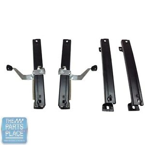 1968 74 Chevrolet Nova Bucket Seat Tracks For Left Right Bucket Seats Set