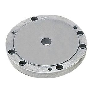 Vertex Flange For 6 3 jaw Chuck On 8 Or 10 Rotary Table 3900 2355