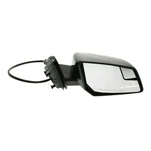 Power Mirror For 2009 2017 Chevrolet Traverse Right Manual Fold Heated Paintable