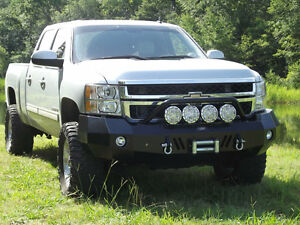 New Panther Winch Front Rear Bumper 2011 2012 2013 2014 Chevy 2500hd 3500