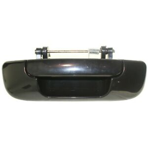 Tailgate Handle For 2002 2008 Dodge Ram 1500 Smooth Black Plastic