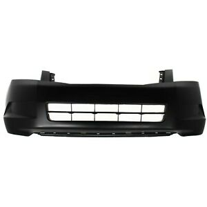 Front Bumper Cover For 2008 2010 Honda Accord Sedan Primed Capa