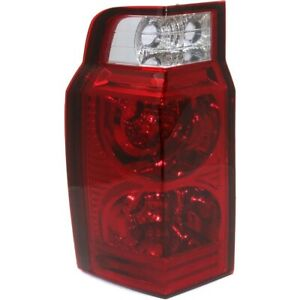 Tail Light For 2006 2010 Jeep Commander Driver Side
