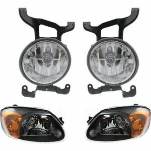 New Auto Light Kit Driver Passenger Side Lh Rh For Hyundai Accent 2003 2005