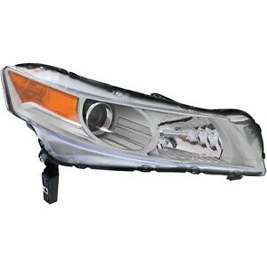 Headlight For 2009 2010 2011 Acura Tl Sh awd Model Right Hid