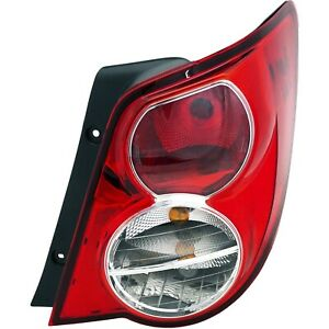 Tail Light For 12 16 Chevrolet Sonic Passenger Side Sedan