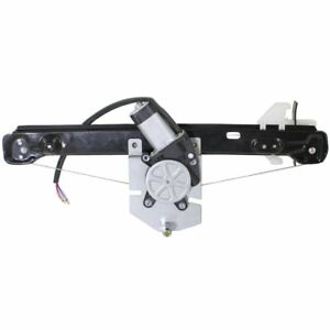 Power Window Regulator For 2008 2011 Ford Focus Rear Driver Side With Motor