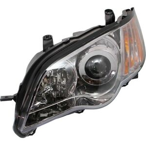 Headlight For 2008 2009 Subaru Outback Left Clear Lens With Bulb