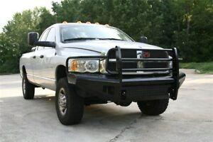 New Ranch Style Front Bumper 03 04 05 Dodge Ram 2500 3500 2003 2004 2005