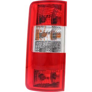 Halogen Tail Light For 2010 13 Ford Transit Connect Left Clear Red Lens W Bulbs