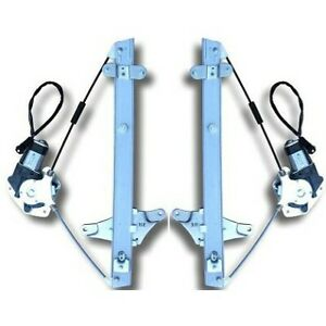 Power Window Regulator For 93 97 Toyota Corolla Set Of 2 Front With Motor