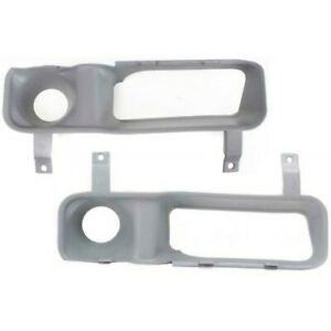 New Fog Light Trims Driving Lamp Set Of 2 Driver Amp Passenger Side Ram Truck Pair Fits More Than One Vehicle