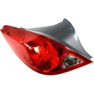 Tail Light For 06 09 Pontiac G6 Driver Side Coupe