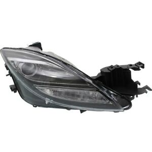 Headlight For 2009 2010 Mazda 6 S Gt Gs I Models Right Clear Lens Hid