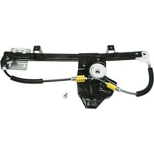 Power Window Regulator For 2002 2005 Land Rover Freelander Rear Driver Side