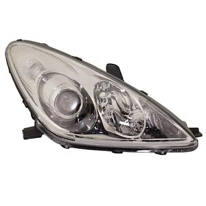 Headlight For 2005 2006 Lexus Es330 Base Model Right Clear Lens With Bulb