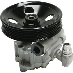 Power Steering Pump For 2006 Mercedes Benz C230 C280 W Pulley